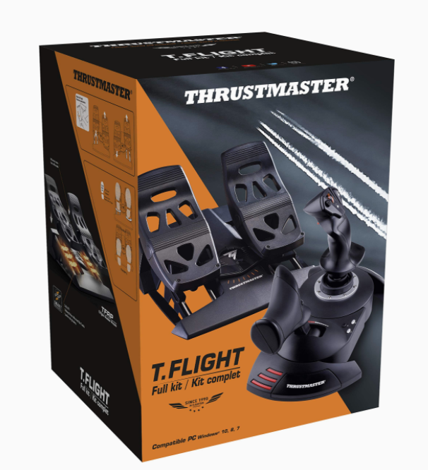 Packaging Kit simulateur de vol SAFETYN x THRUSTMASTER