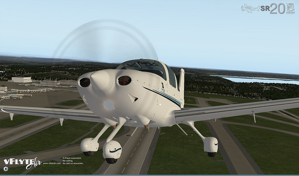 Cirrus SR20 - XPlane 11 by vFlyteAir Simulations