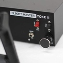 [SIMUFMYOKE3] VR Insight Flight Master Yoke III