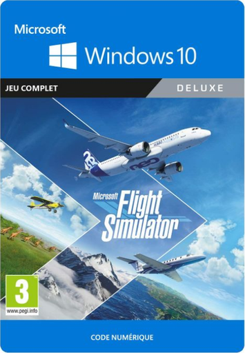 [SIMUFS20DE] Microsoft Flight Simulator Deluxe Edition